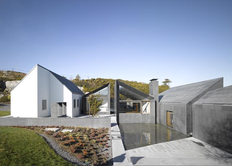 Dezeen On Twitter Quot Four Mono Pitched Extensions To A