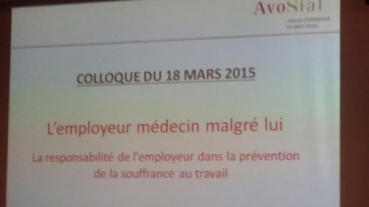 Colloque #Avosial <br>http://pic.twitter.com/jVQdHEFP21