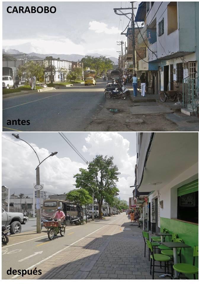 Ejemplos de #CivilizarLasCalles en Medellín hay varios. Ej: La carrera Carabobo. Referente para #PalaceParaTodos ? http://t.co/urxD0bs5lg