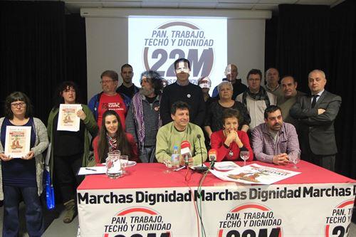 Las Marchas por la Dignidad vuelven para denunciar la situación social de muchas familias - http://t.co/4GKs0DIra3 http://t.co/64ZC7VZ3c1