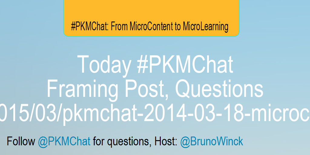 Today #PKMChat Framing Post, Questions http://t.co/HCmABGc3tO http://t.co/YymFeGeNN9
