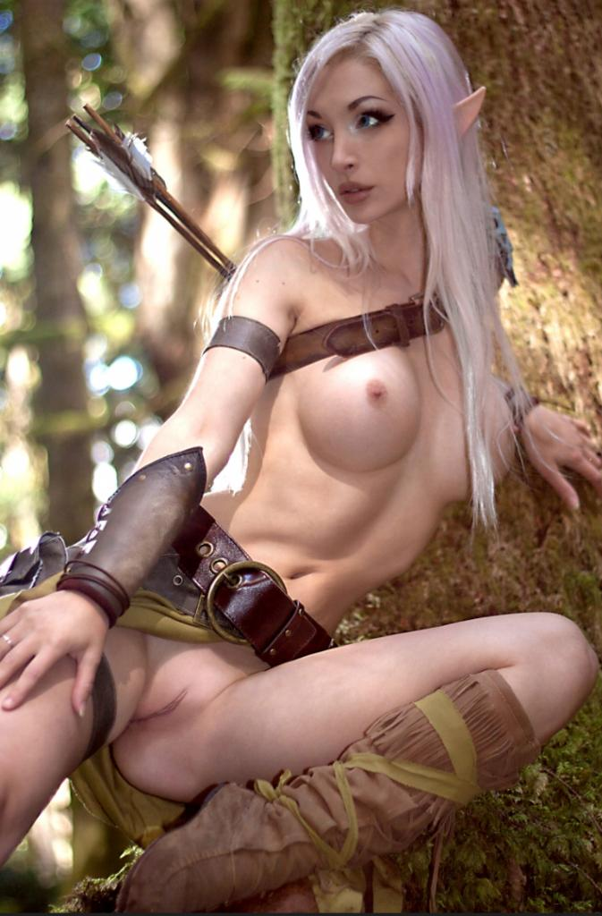 Apologise, sexy elf girl cosplay porn