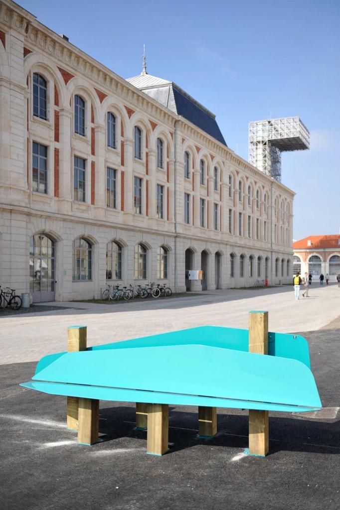 Ville saint tienne on twitter biennaldesign15 - Mobilier jardin d ulysse saint etienne ...