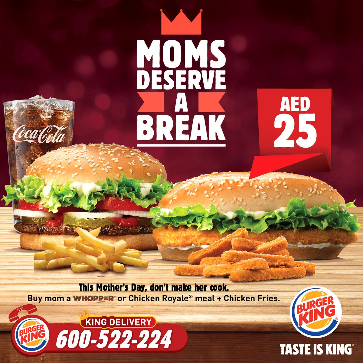 Burger King already has one entry in the ongoing fast food meal-deal war that focuses on one person — a 5 for $4 menu that includes a bacon cheeseburger, small fries, chicken nuggets, beverage.