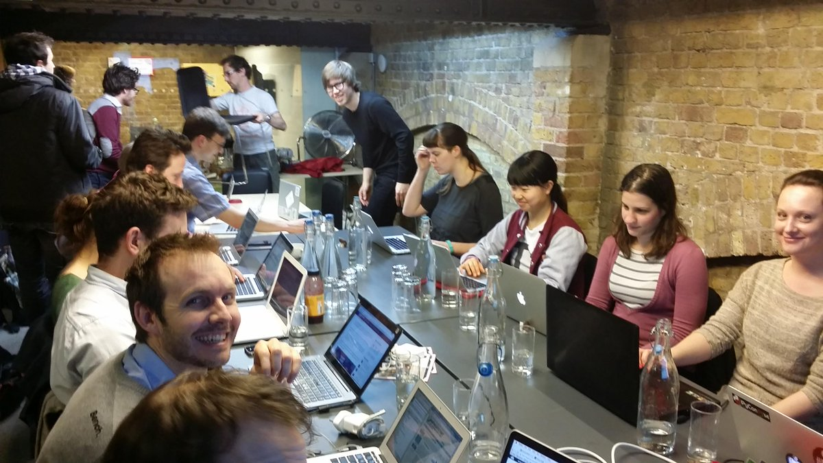 At my first #FlashHacks, working with @opencorporates, exciting :) http://t.co/ker55I62Qv
