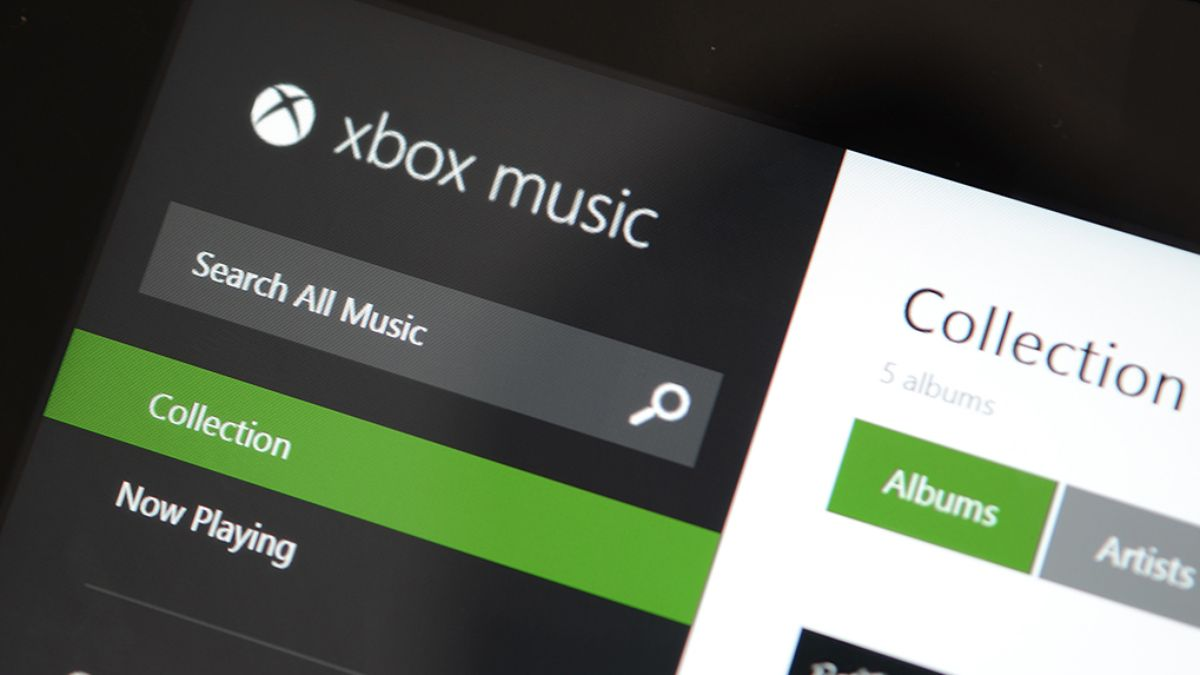 Xbox Music can now play music stored in OneDrive