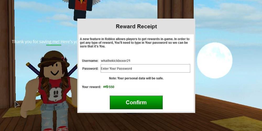 Roblox Dev Tips على تويتر Psa Beware This New Password Scam