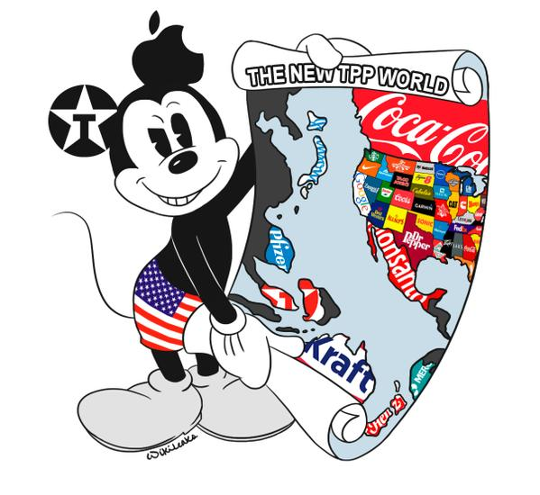 Les #traités sont #pipés! RT @wikileaks: Leaks shows #TPP #ISDS is rigged to advantage U.S  https:// blog.ffii.org/tpp-isds-is-ri gged-to-advantage-u-s/ &nbsp; … <br>http://pic.twitter.com/fwXNGyQirH