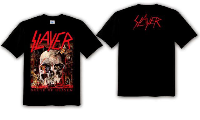 SLAYER SOUTH OF HEAVEN TS Spezielle Anlässe & Arbeitskleidung Tops & Shirts