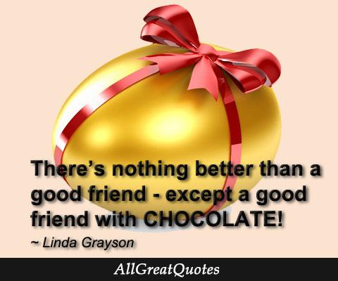 A good friend with CHOCOLATE - http://t.co/OcBDyNGRhf http://t.co/bRcJeQZZQr