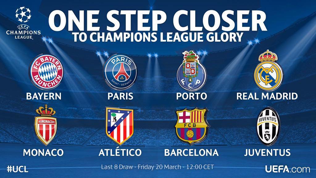 Diretta Sorteggi Champions streaming Juventus: preferite Barcellona Real Madrid o Monaco?