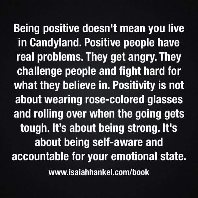 """Quotes About People Being Mean: Happy Light Coaching On Twitter: """"""""Being Positive Doesn't"""