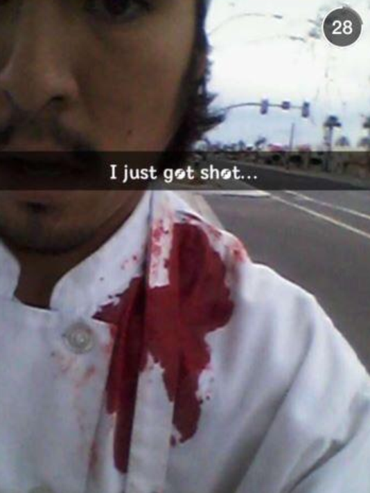 #Mesa shooting victim takes a bullet, then a selfie http://t.co/KzoYWJ5xGs http://t.co/tZEtGeYhBN