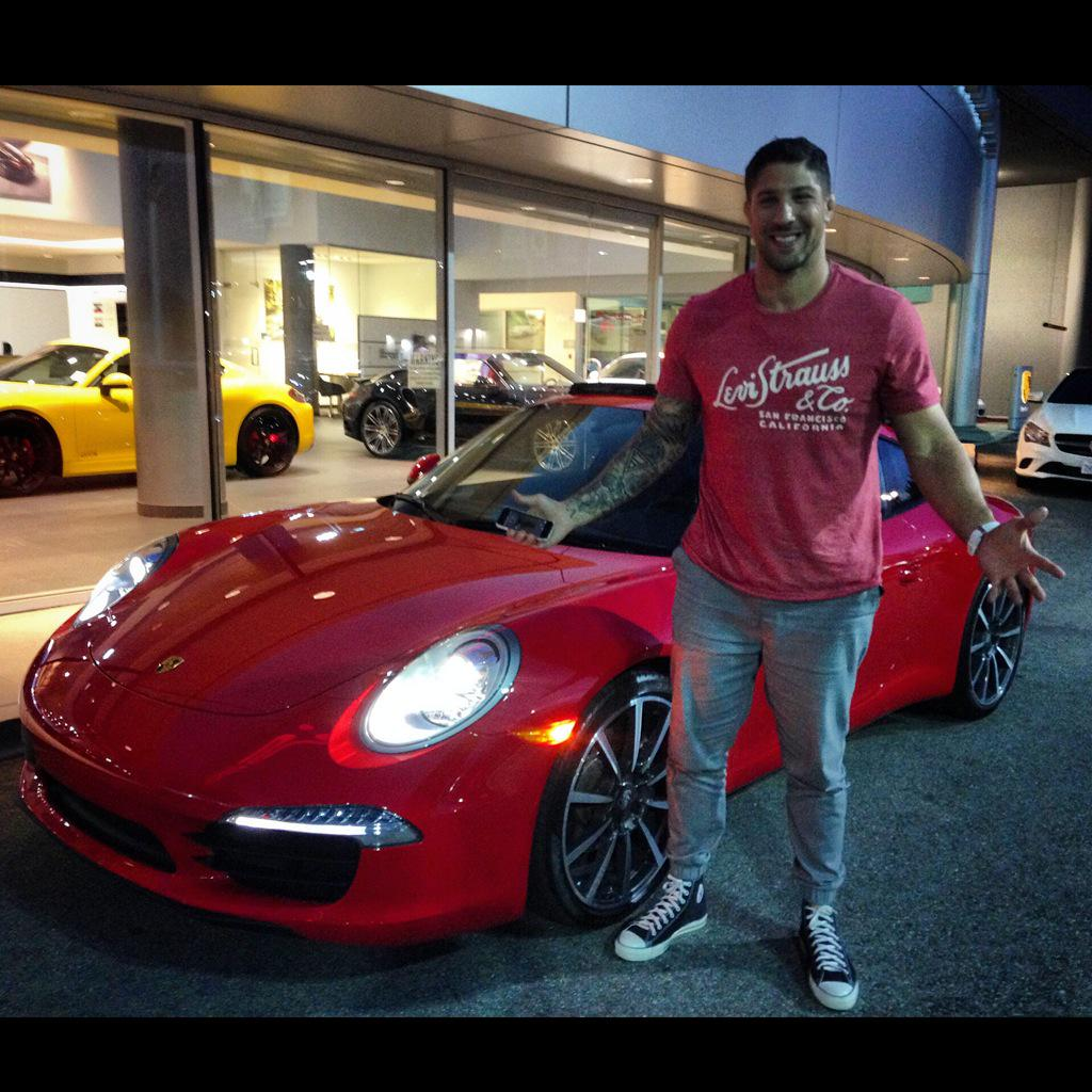 Photo of Brendan Schaub  - car