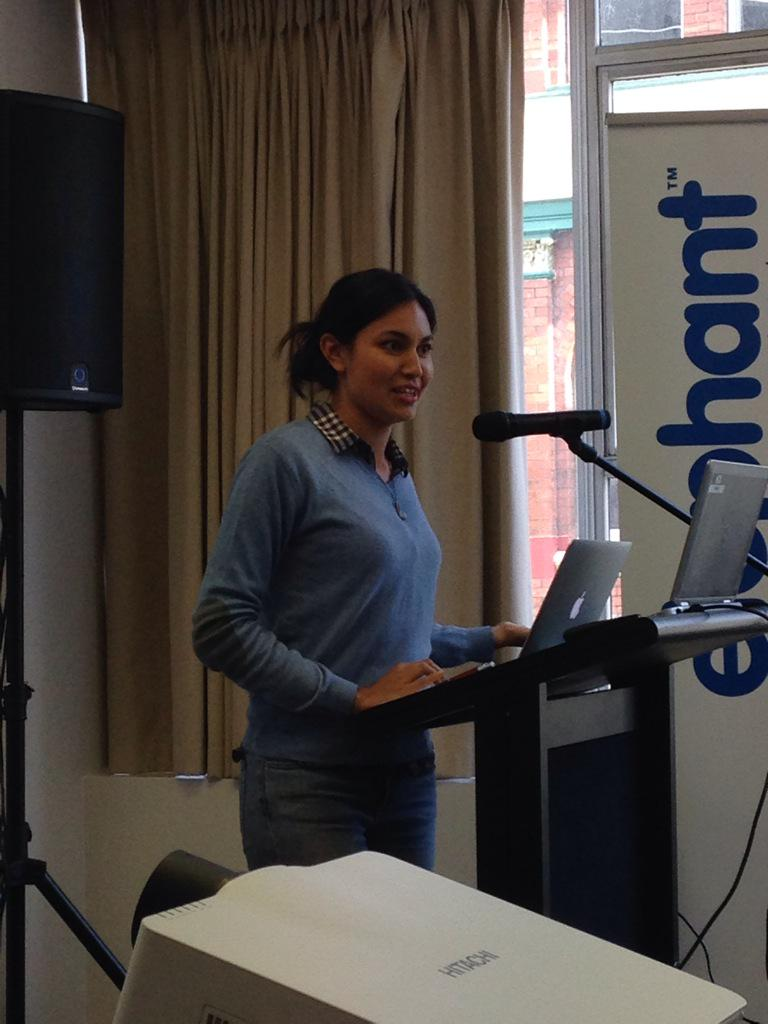 Love hearing Nadia Lim sharing her storey of building her personal brand #hraconf15 http://t.co/1si0A6pVEk