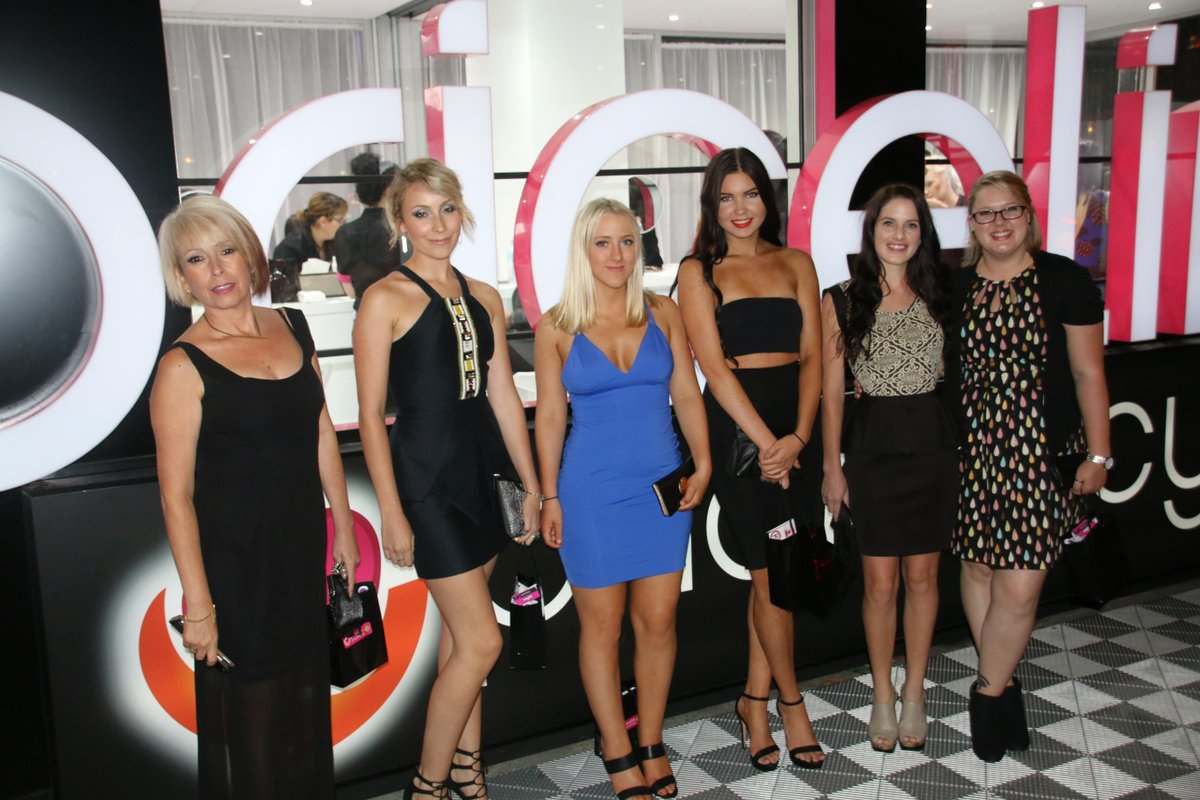 Our lovely #SisterClub winners at last night's #VAMFF show! We hope you enjoyed your #PricelinexVAMFF VIP experience!