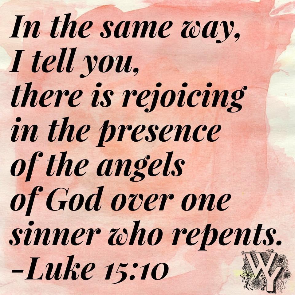 Kuvahaun tulos haulle luke 15:10