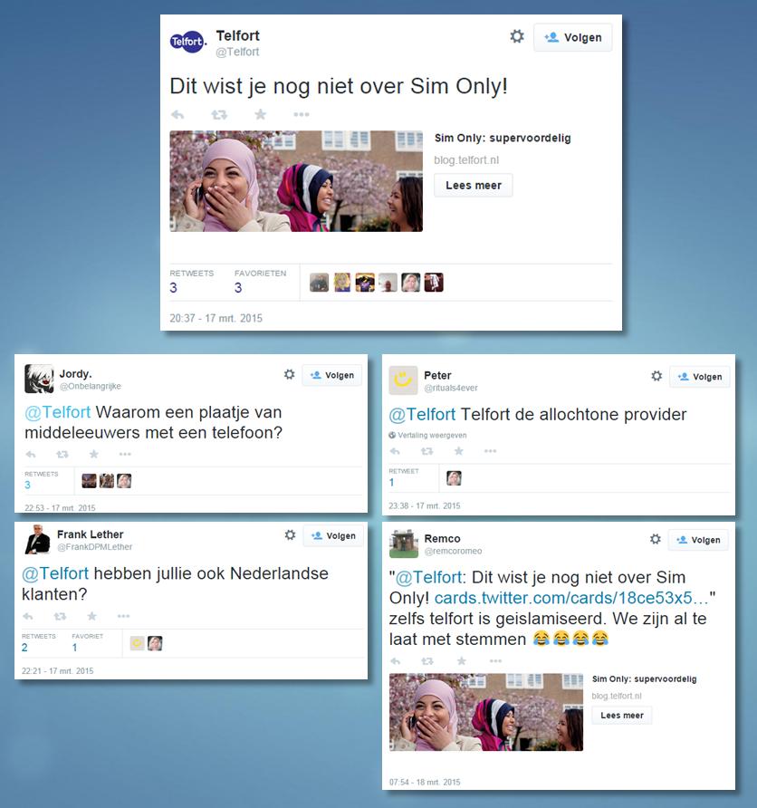 """En nu doorpakken @Telfort! """"@skwiks WTF RT @nourdeenw Hoe sommige mensen reageren als ze een vrolijke moslima zien http://t.co/HvmMrT8rfO"""""""