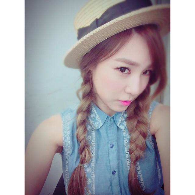 "Girls' Generation on Twitter: ""SNSD Tiffany Selca from ..."