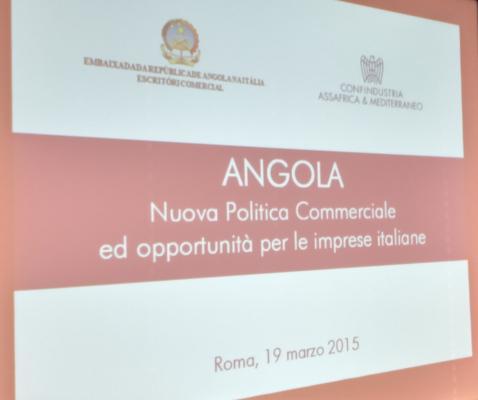 Thumbnail for Incontro con nuovo Front Office dell'Ambasciata d'Angola in Italia per le imprese  interessate ad operare sul mercato...