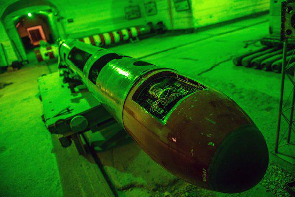 La base segreta dei sottomarini russi 825 GTS oggi e' un museo