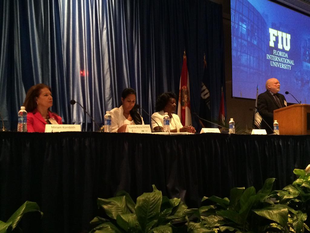 Segundo Panel de Mujeres y Sociedad Civil en Cuba, con Berta Soler