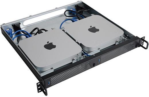 アミュレット、Mac mini 2台を1Uサイズのラックにマウントできる「1URack2Mini」を発売 ☞ http://t.co/97ebHk9507 / http://t.co/3zBKKQ7qoH