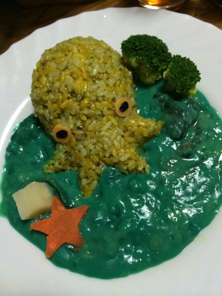 今日のご飯はカレーですがこのツイートを見てしまった貴方はSANチェックです pic.twitter.com/oj7GDKmDCC