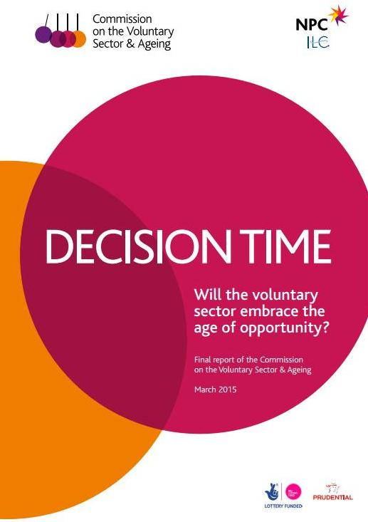 Thumbnail for #DecisionTime: Will the voluntary sector embrace the age of opportunity?