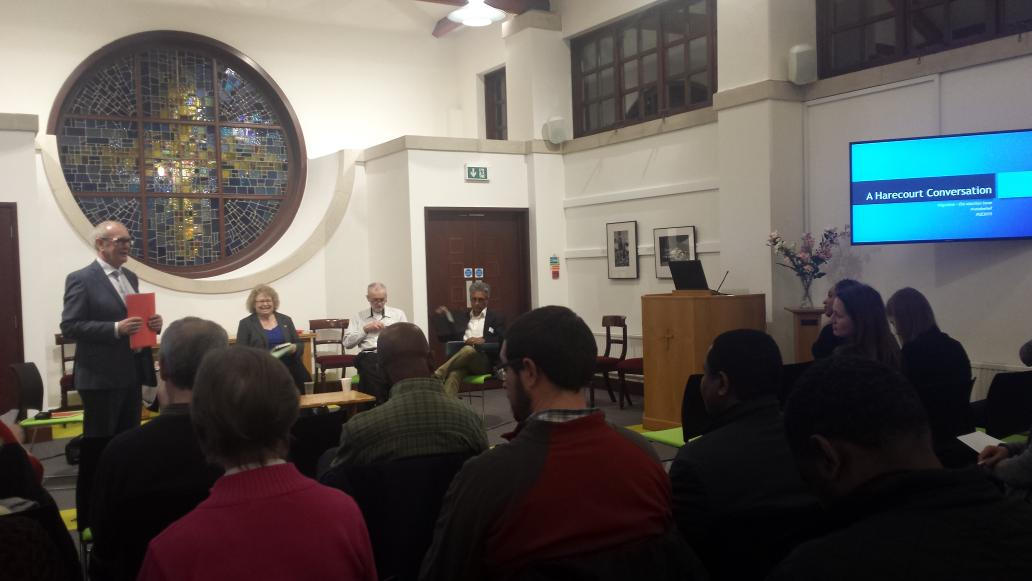 At Harecourt for Migration & the 2015 election: reframing the terms of the debate #GE2015 .@Ekklesia_co_uk #canonbury http://t.co/fxmCIbtD9N