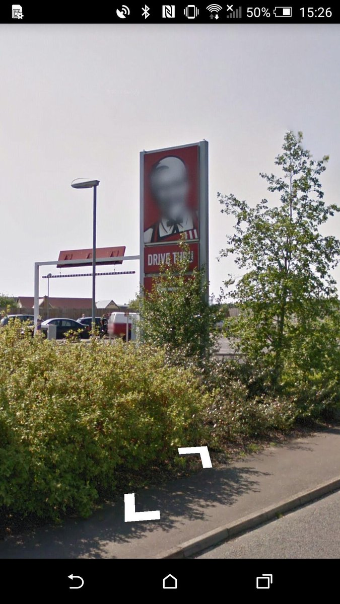 Nice job on the auto face blurring Street View. Who is it, I just can't tell! http://t.co/1MwvAUoge7