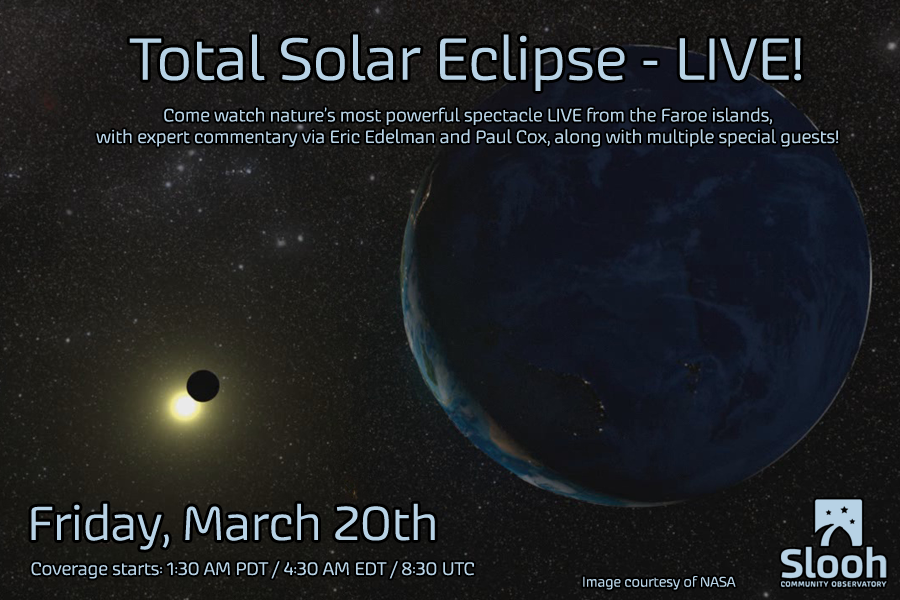 When the light dies we look to the skies. Join our broadcast of a total Eclipse from the Faroe Islands! #SloohEclipse http://t.co/q2wkteuYAn