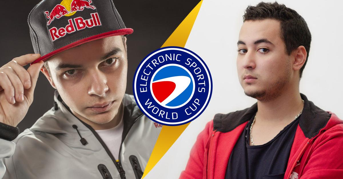 One American, one French, both @redbullesports athletes. Which one is your favorite? RT @Gotaga FAV @OpTic_NaDeSHoT