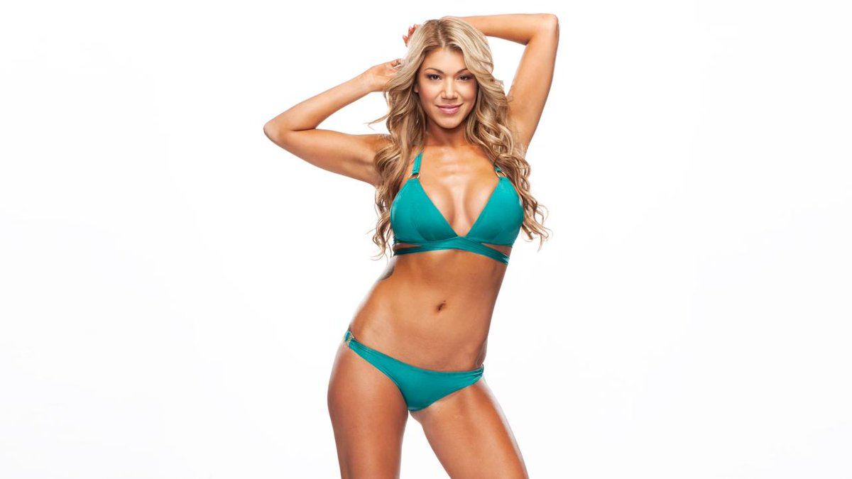Unexpectedness! Rosa mendes bikini for that