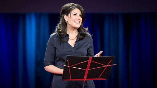Monica Lewinsky at TED conference: 'I was patient zero' in online bullying crisis http://t.co/c1JRur8HEN http://t.co/EBP6mcSbpR
