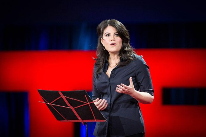 Monica Lewinsky delivers TED talk on cyberbullying http://t.co/5xem2rYu5W http://t.co/KiL1c5WGQ6