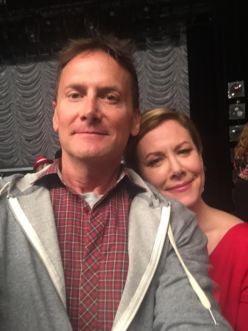 .@hitchmichael I could rest my head on your shoulder all day long. So happy we got to GLEE together. http://t.co/yJfi2gjW8B