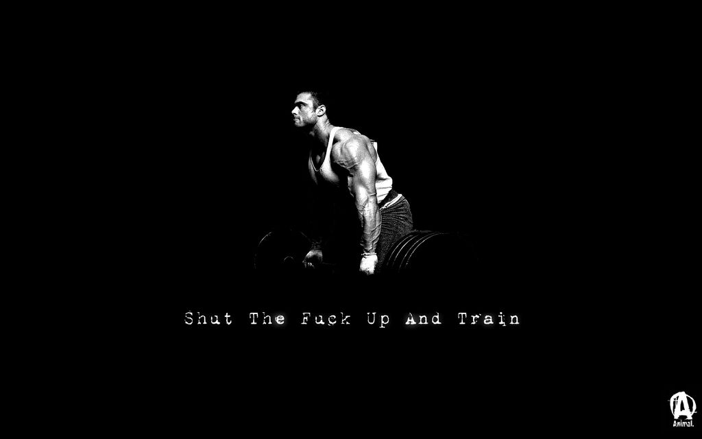 Beasts Of Gym On Twitter Shut The Fuck Up And Train Motivation Workout Exercise Tco OqtkDVEdEG