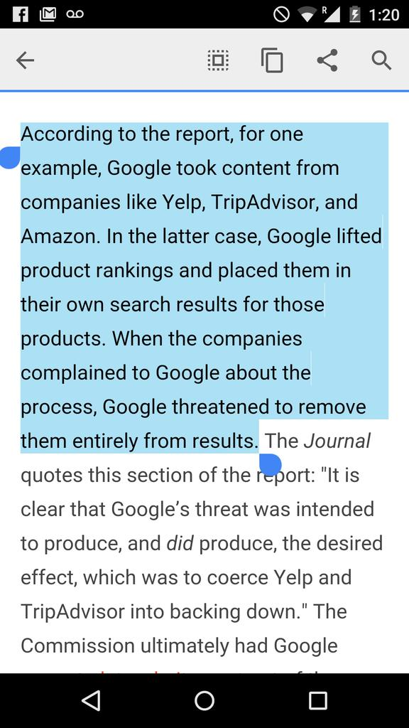 Google Reportedly Blackmailed Websites Into Giving It Content For Free http://t.co/HadYck7rrG sadly, not surprising http://t.co/3qU2N0A53T