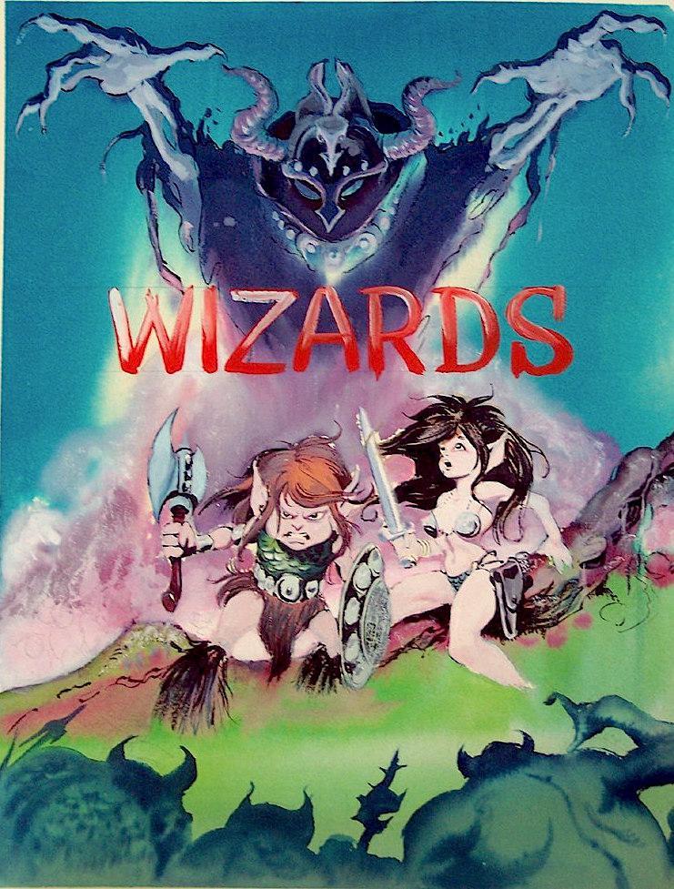 Ralph Bakshi Wizards Poster