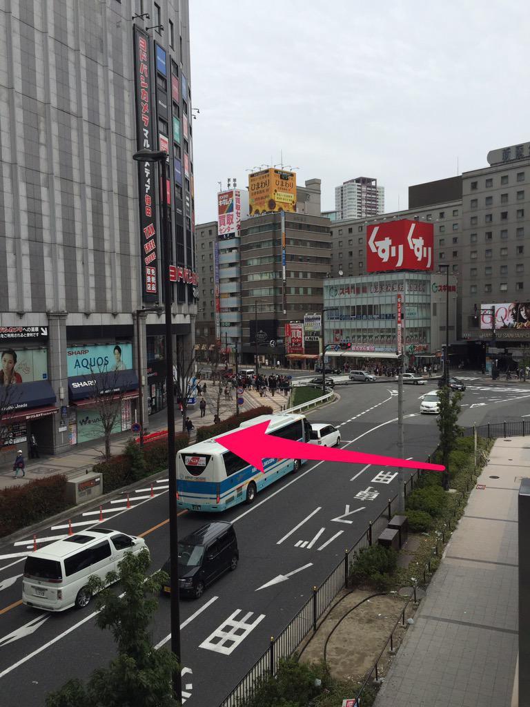 横断歩道でも歩道橋でもどっちでもいいからいい加減JR大阪駅からヨドバシに行くここの部分繋げてくれ〜っ!!! http://t.co/PwUJyMtB5k