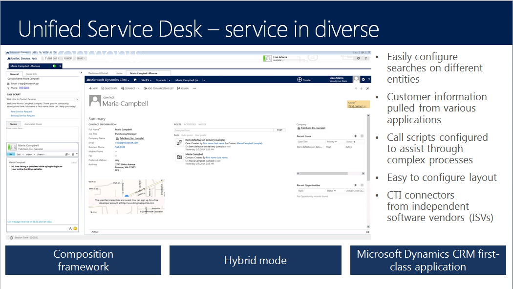 Setting Up Unified Service Desk #MSdynUSD #MSdynCRM  #Conv15pic.twitter.com/j8zxIfoRyW