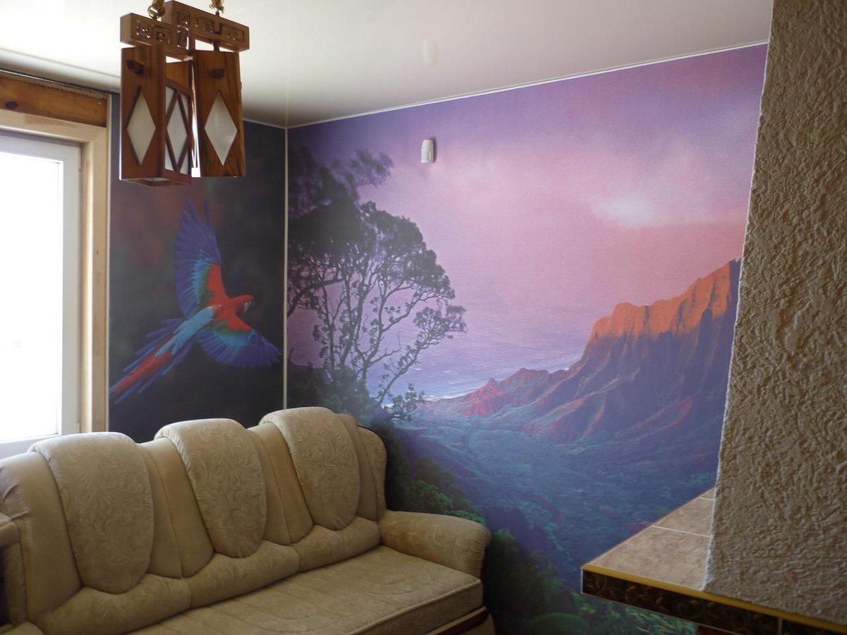 натяжные фотообои на стену картинки, или