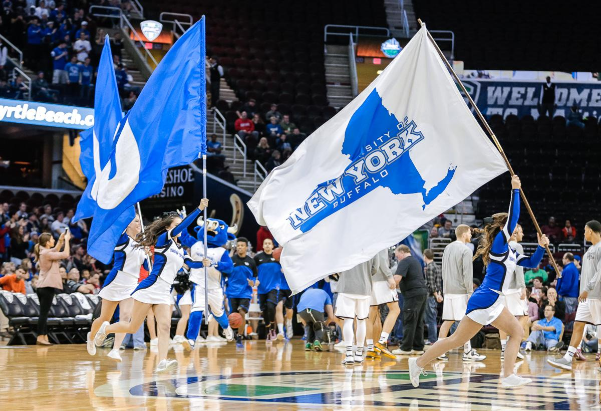 Let's get ready for some @UBmenshoops Tip off at 2pm today #UBBulls #UBuffalo #UBDancing #NCAA #MarchMadness http://t.co/mXzOczuKpz