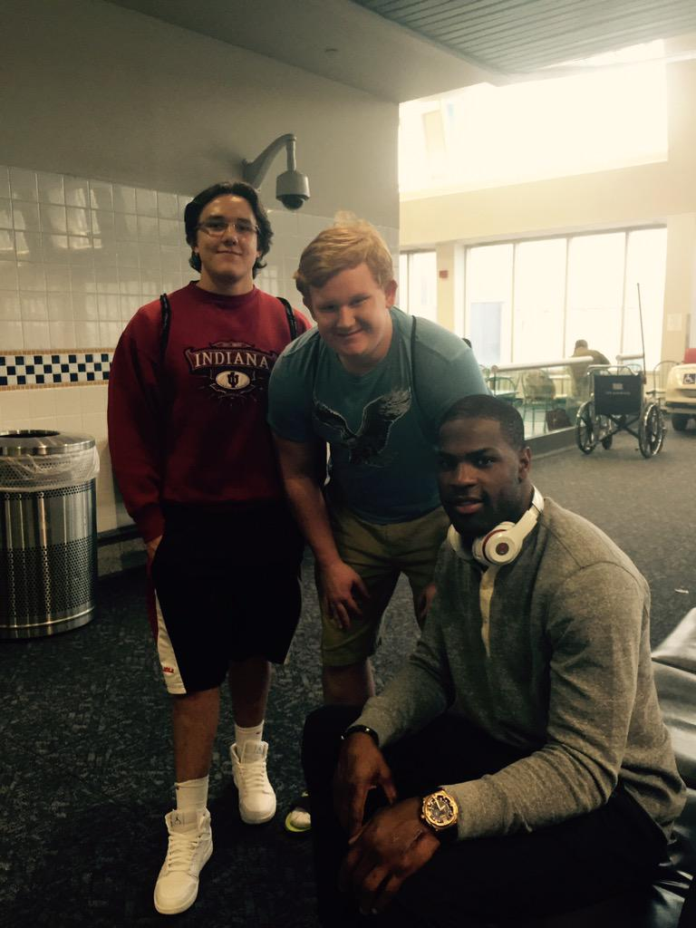 DeMarco Murray Making Friends in Philly