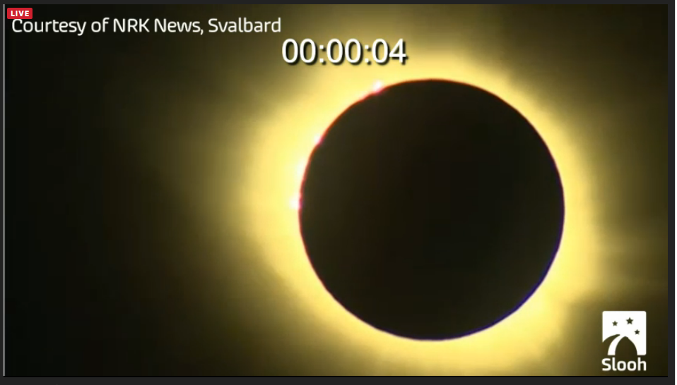 Total Eclipse from Svalbard! #SloohEclipse http://t.co/e6qc1ReI2t