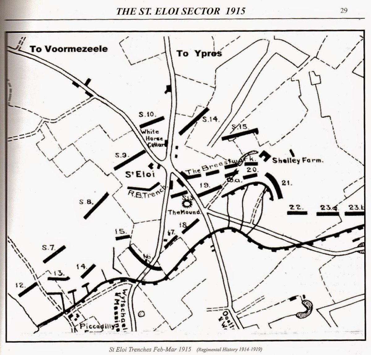 Wwi Covered Live On Twitter Mar 19 1915 Ppcli Agar Adamson Trench Diagram Ordered To 21 Most Dangerous In Ypres Salient Http Tco Ffnbaoltgl