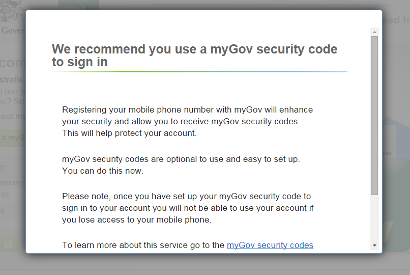 how to cancel mygov account