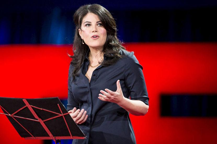 "Monica Lewinsky gives TED Talk: ""Who didn't make a mistake at 22?"" http://t.co/zMz9QzK12m (Duncan Davidson/Reuters) http://t.co/vQL4hqr9e5"