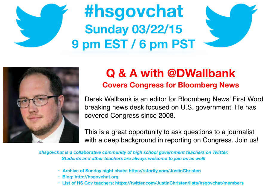 Thumbnail for #hsgovchat (03/22/15): Q & A w/ @DWallbank